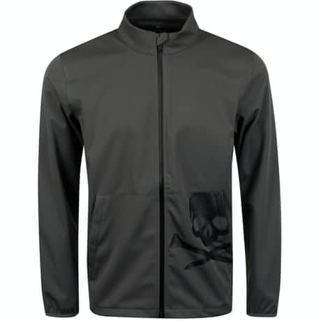Soft Shell Full Zip Charcoal - SS20