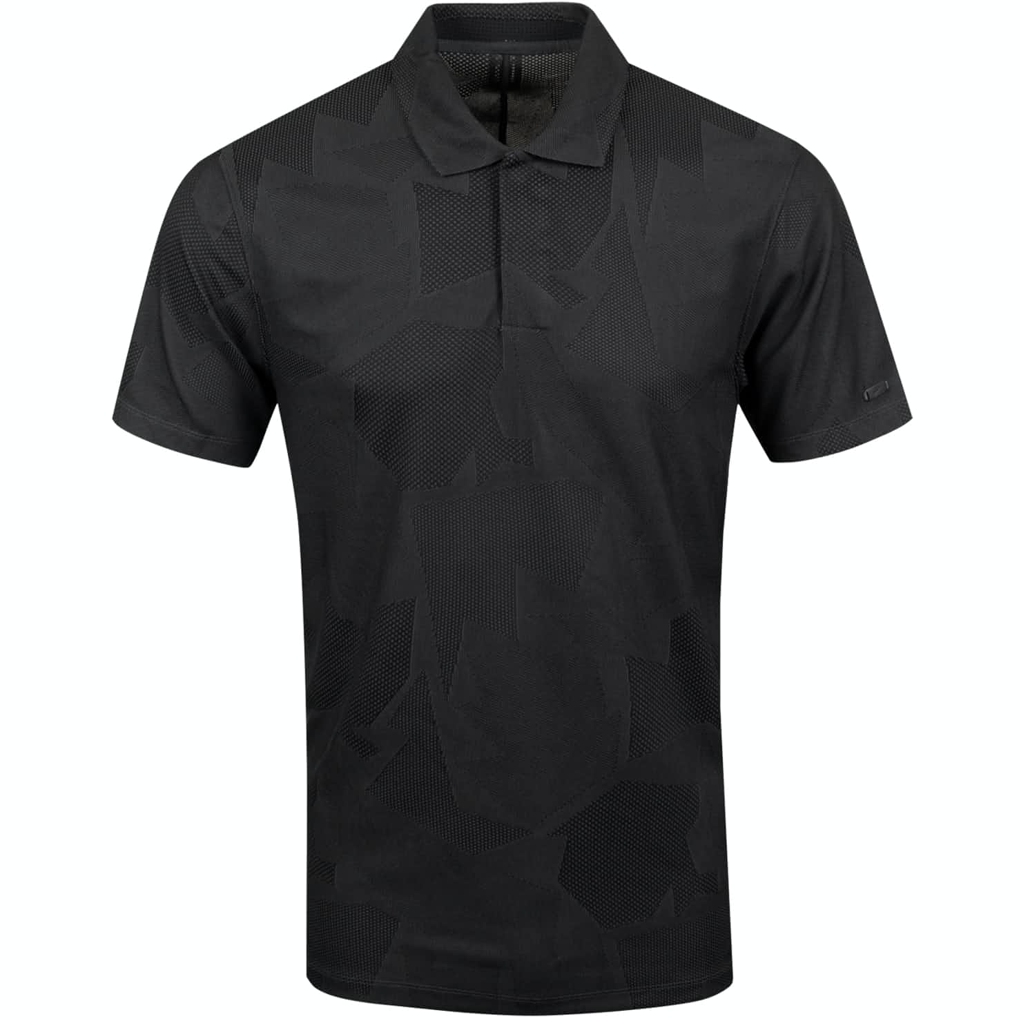 TW Dry Camo Jacquard Polo Dark Smoke Grey  - SS20