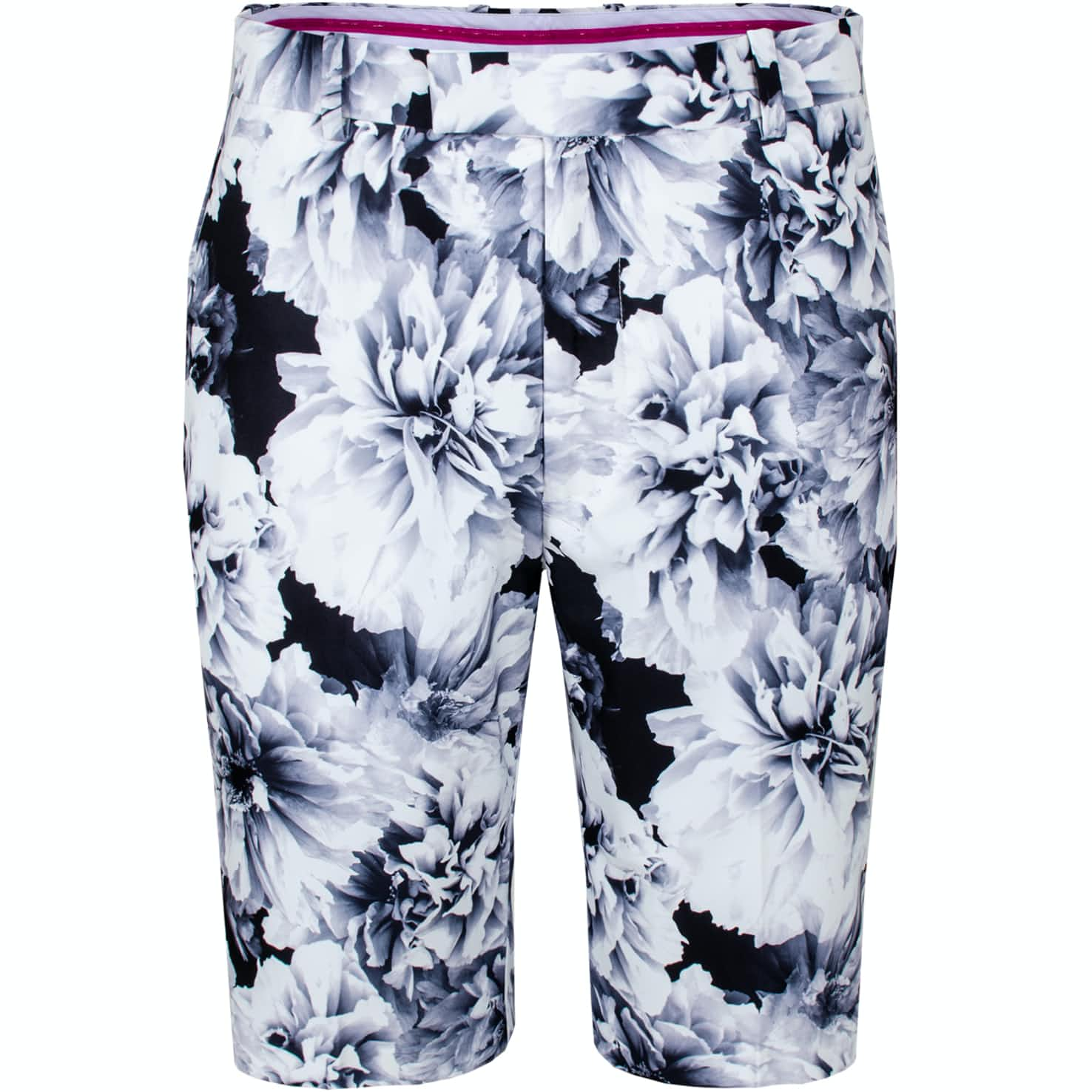 Printed Floral Shorts Snow/Onyx - SS20