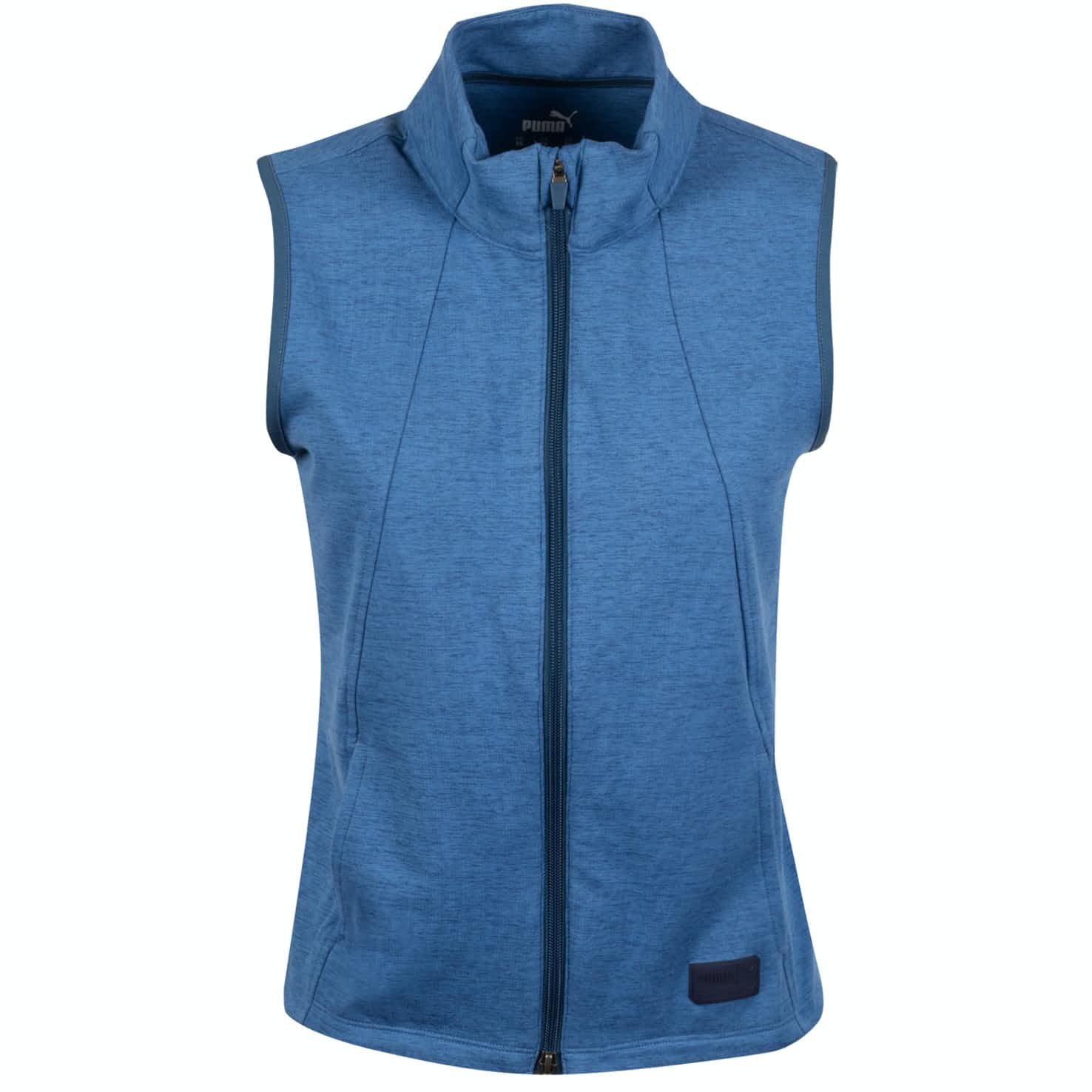 Womens Warm Up Vest Dark Denim Heather - SS20