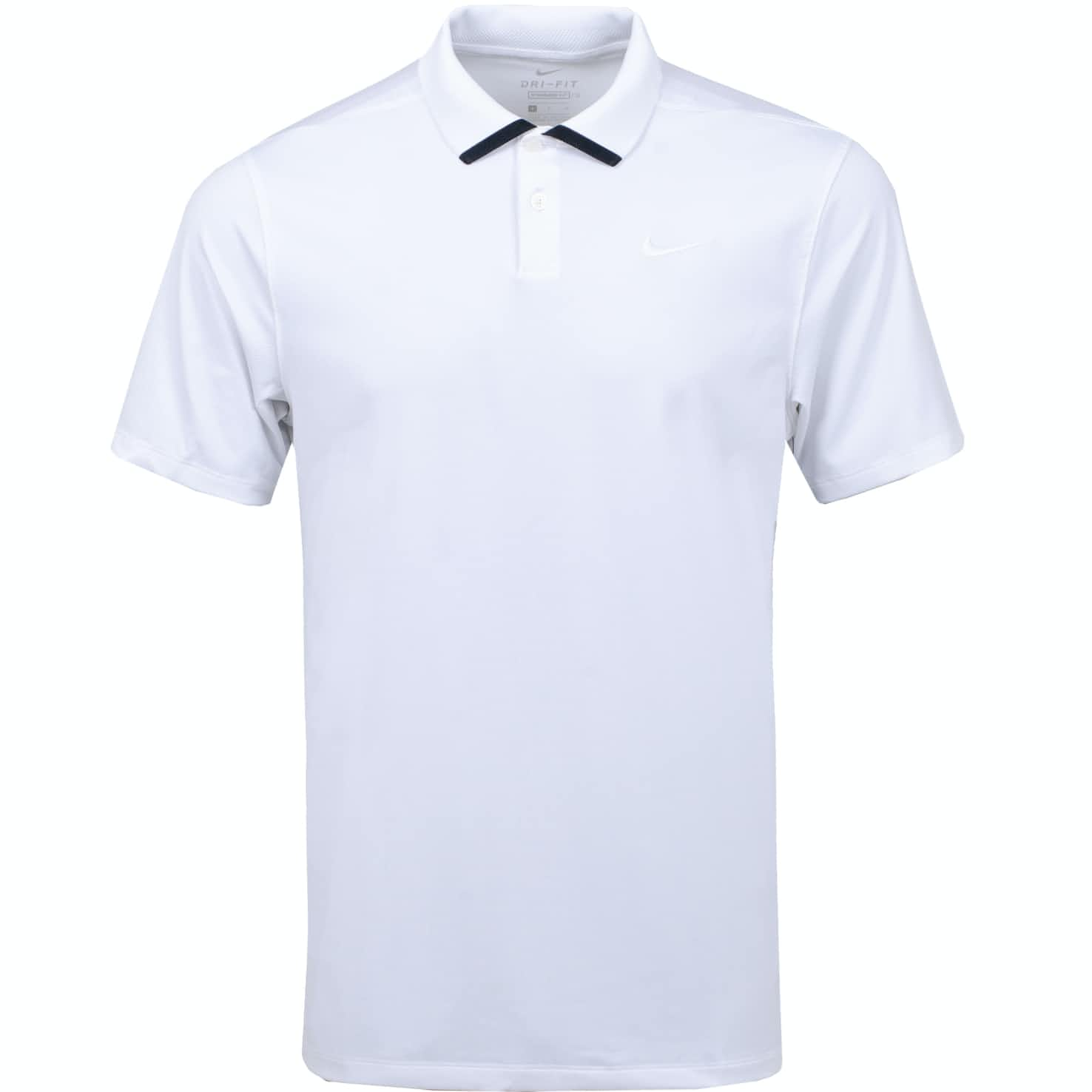 Dry Vapor Solid Polo White - SS20