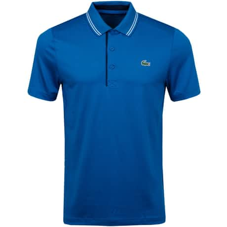Technical Tipped Polo Blue - SS20