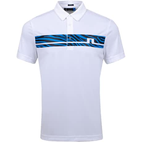Clark Print Slim Fit TX Jersey White - SS20
