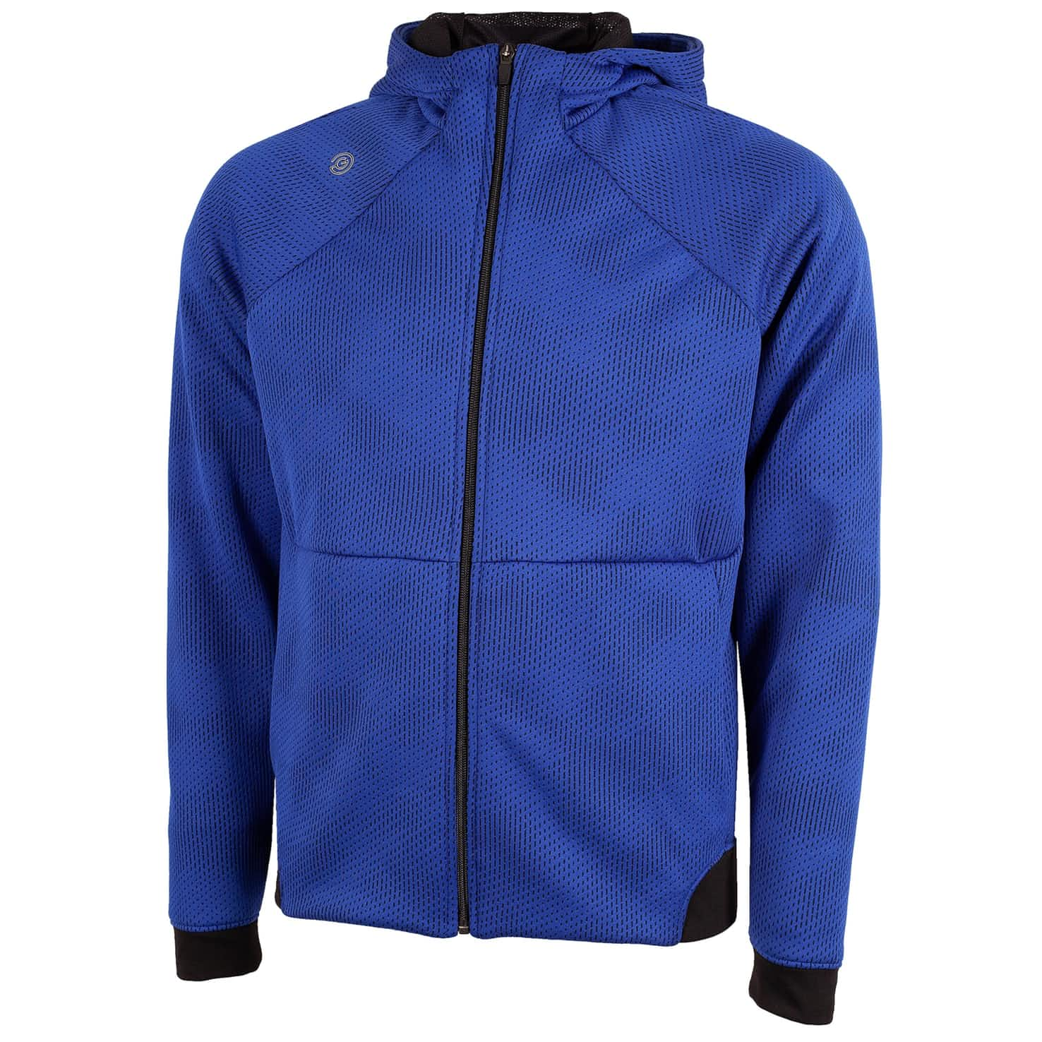 Dolph Insula Hooded Jacket Surf Blue/Black - SS20