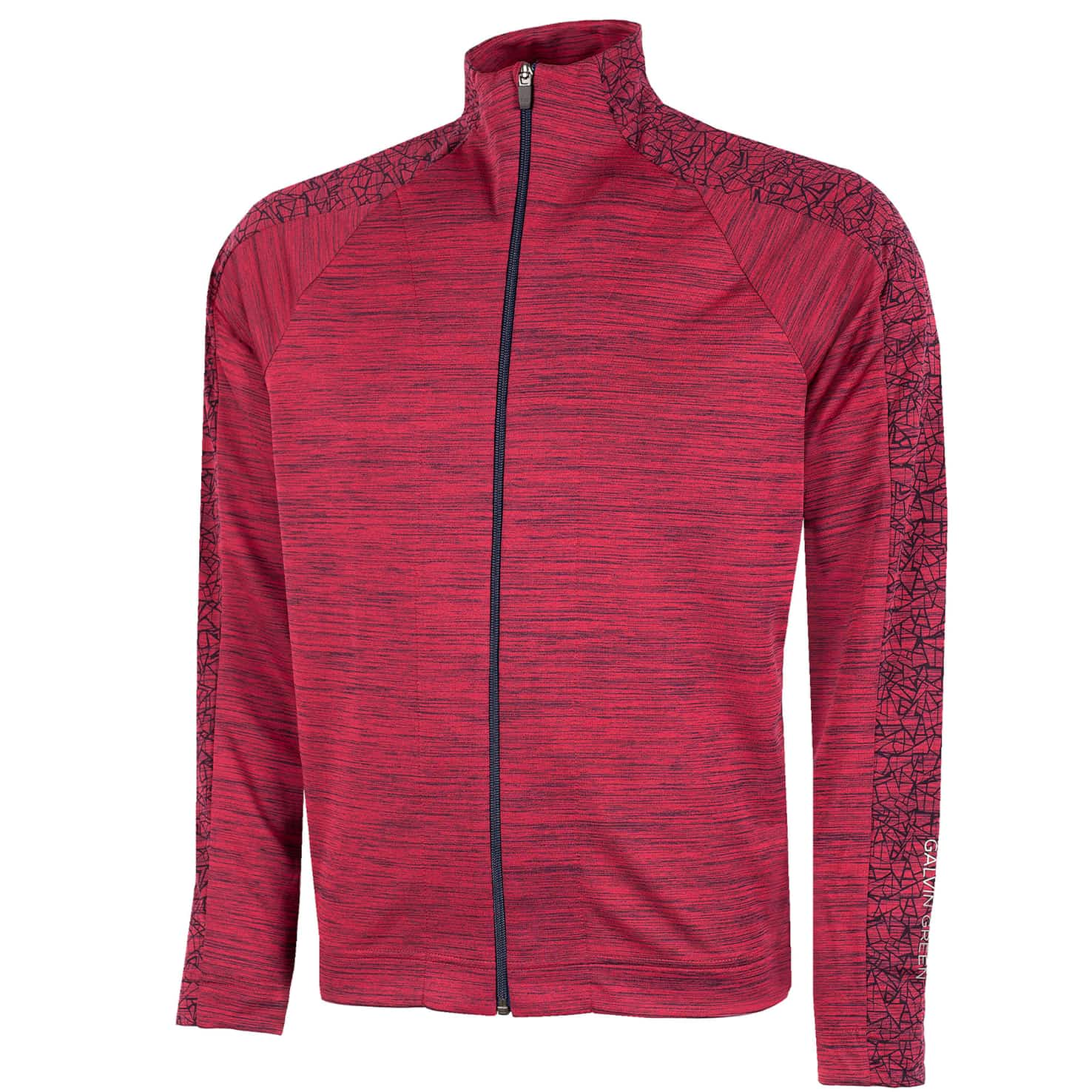 Declan Insula Full Zip Jacket Barberry - SS20