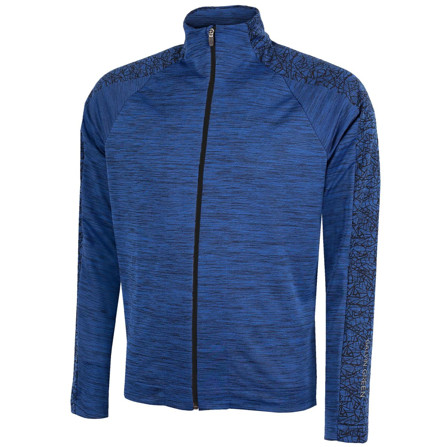 Declan Insula Full Zip Jacket Surf Blue - SS20