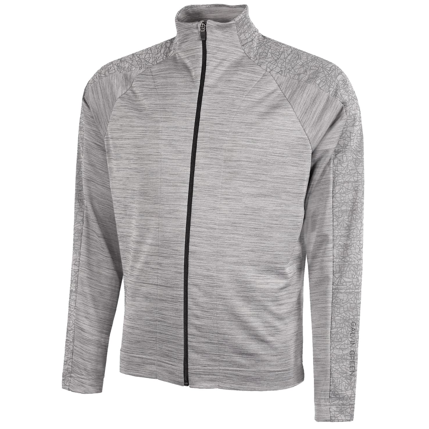 Declan Insula Full Zip Jacket Light Grey - SS20