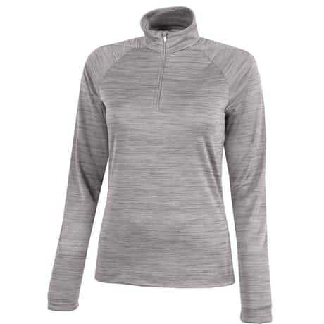Womens Dina Insula Half Zip Light Grey - SS20