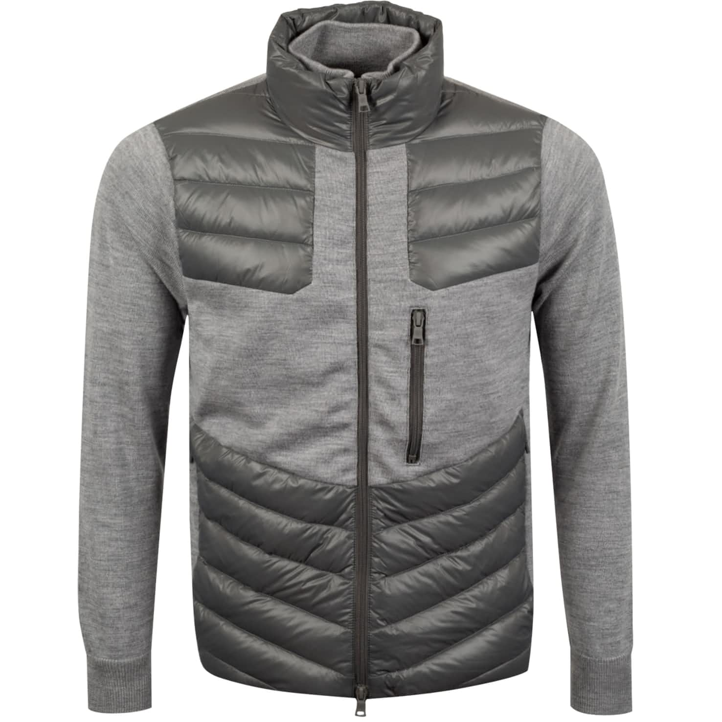 Killer Quilted Jacket Charcoal - SS20