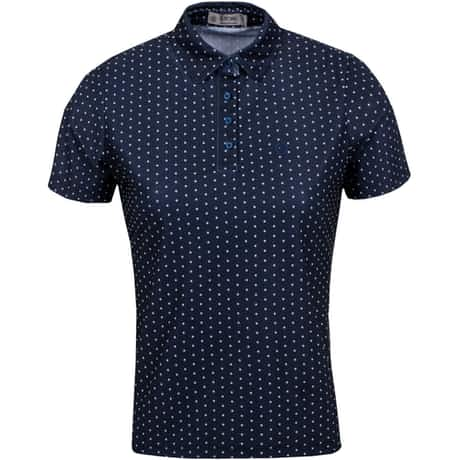 Womens Dots Polo Twilight - SS20