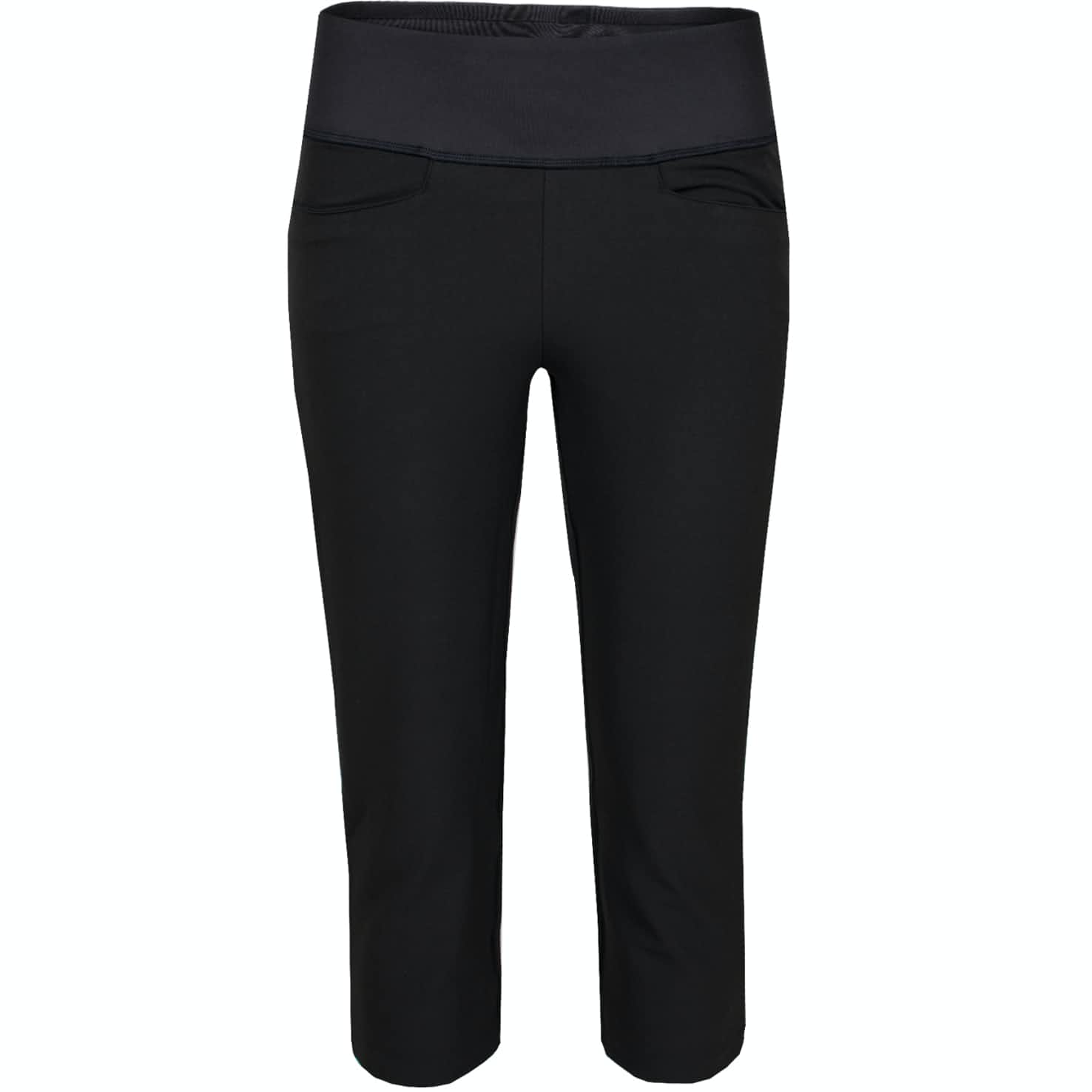 Womens PWRSHAPE Capri  Black - 2020