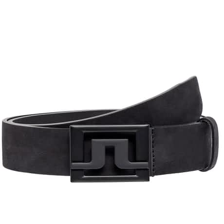 Slater 40 Brushed Leather Belt Black - SS20