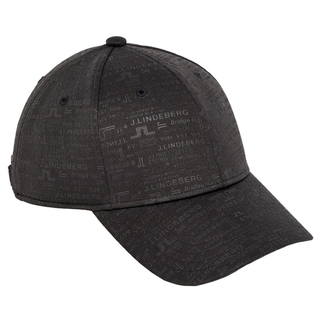 Archive Print Cap Recycled Poly Black - SS20