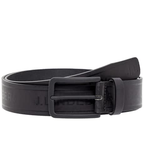 Jimmy Pro Leather Belt Black  - SS20