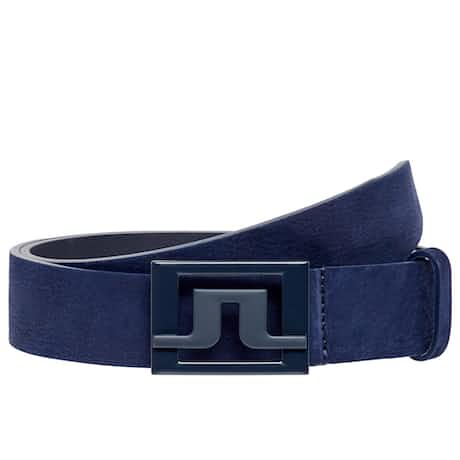 Slater 40 Brushed Leather Belt JL Navy - SS20