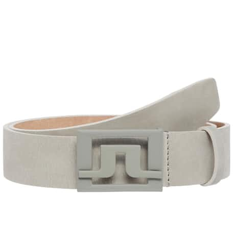 Slater 40 Brushed Leather Belt Stone Grey - SS20