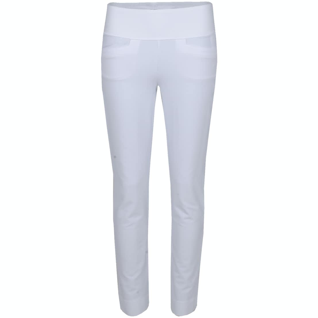 Womens PWRSHAPE Pull On Pants Bright White - 2020