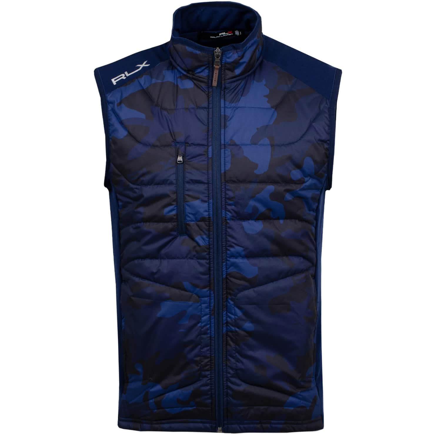 Cool Wool Vest French Navy Camo - SS20