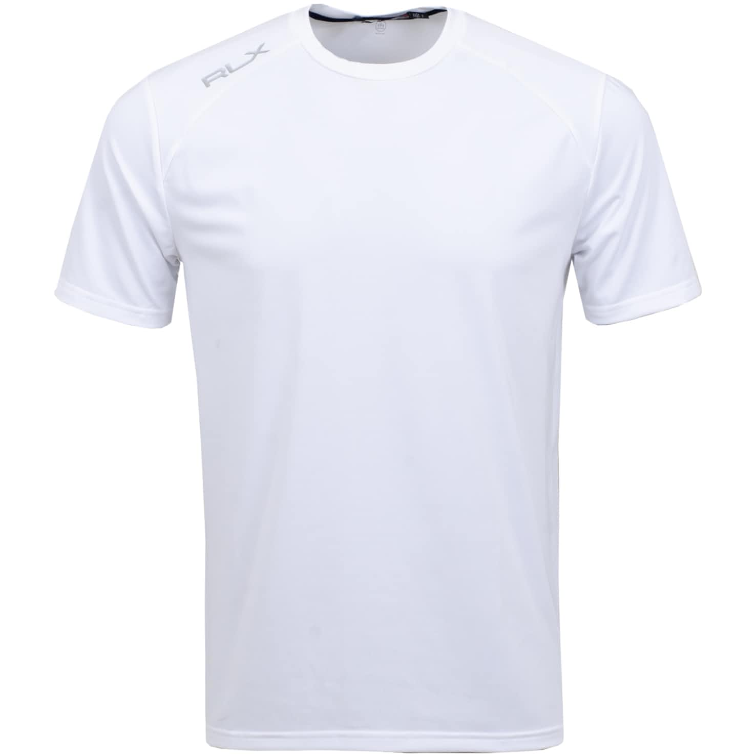 Active Crew T-Shirt Pure White - SS20