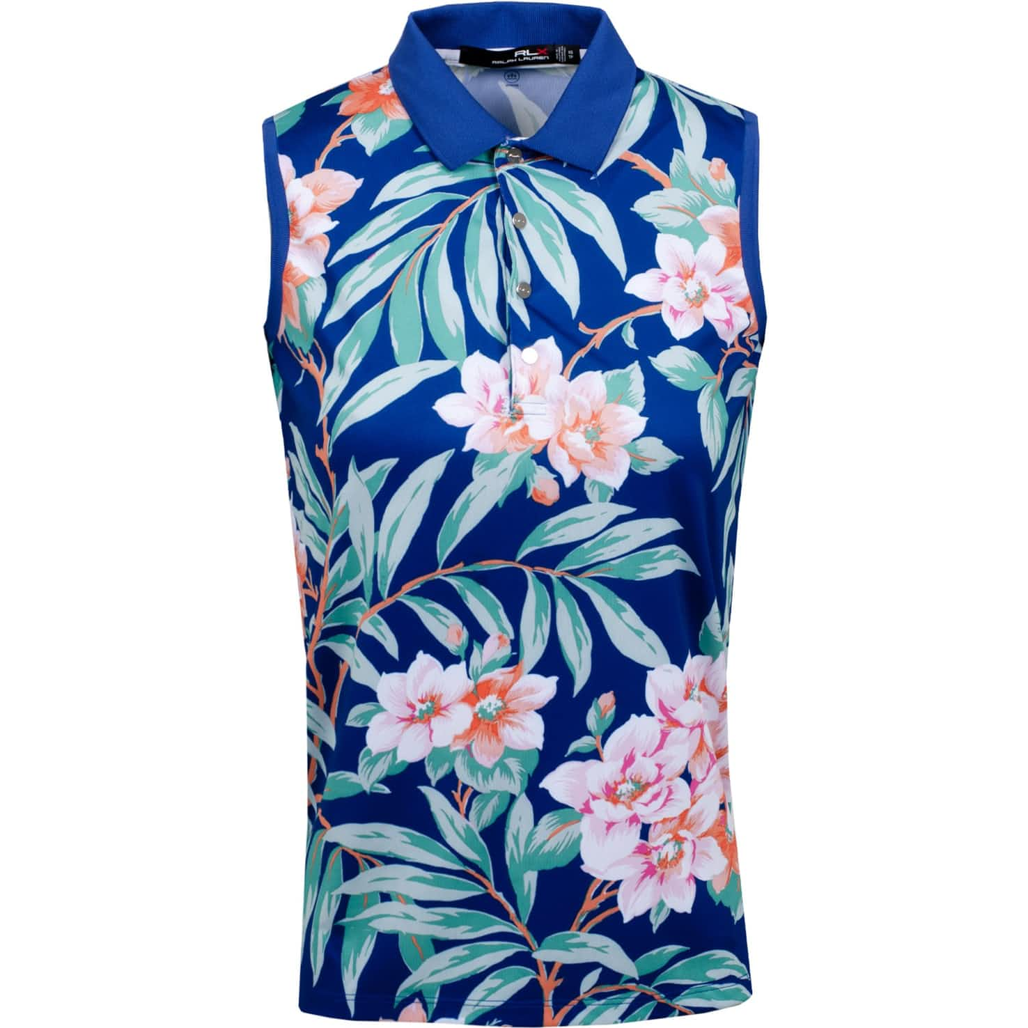 Womens Printed Sleeveless Polo Island Floral - SS20