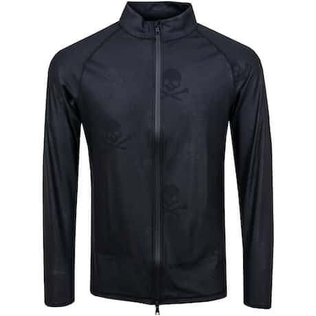 Skull & T's Embossed Full Zip Mid Onyx - 2020