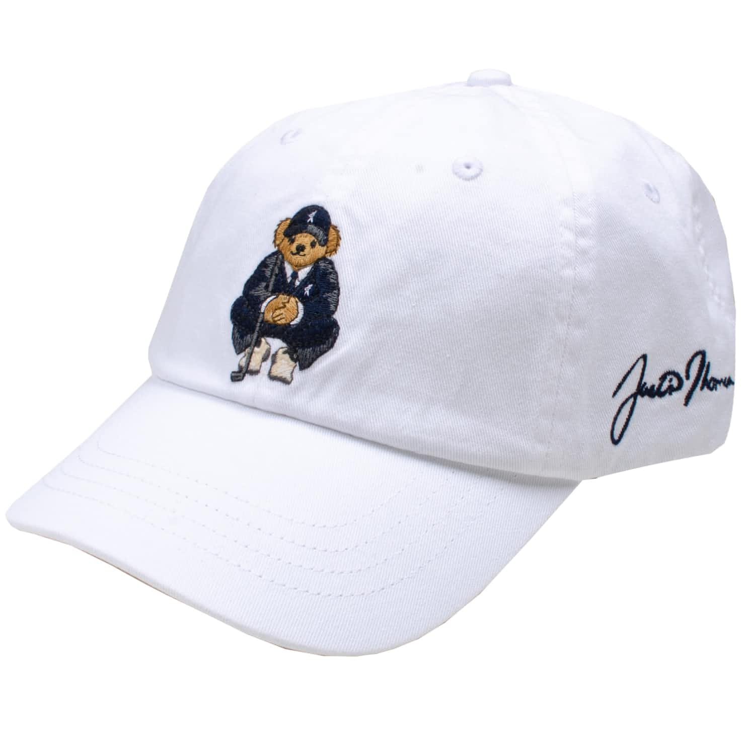 Bear Chino Cap Pure White - SS20