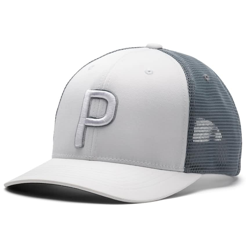 Trucker P 110 Snapback Cap Bright White - 2021
