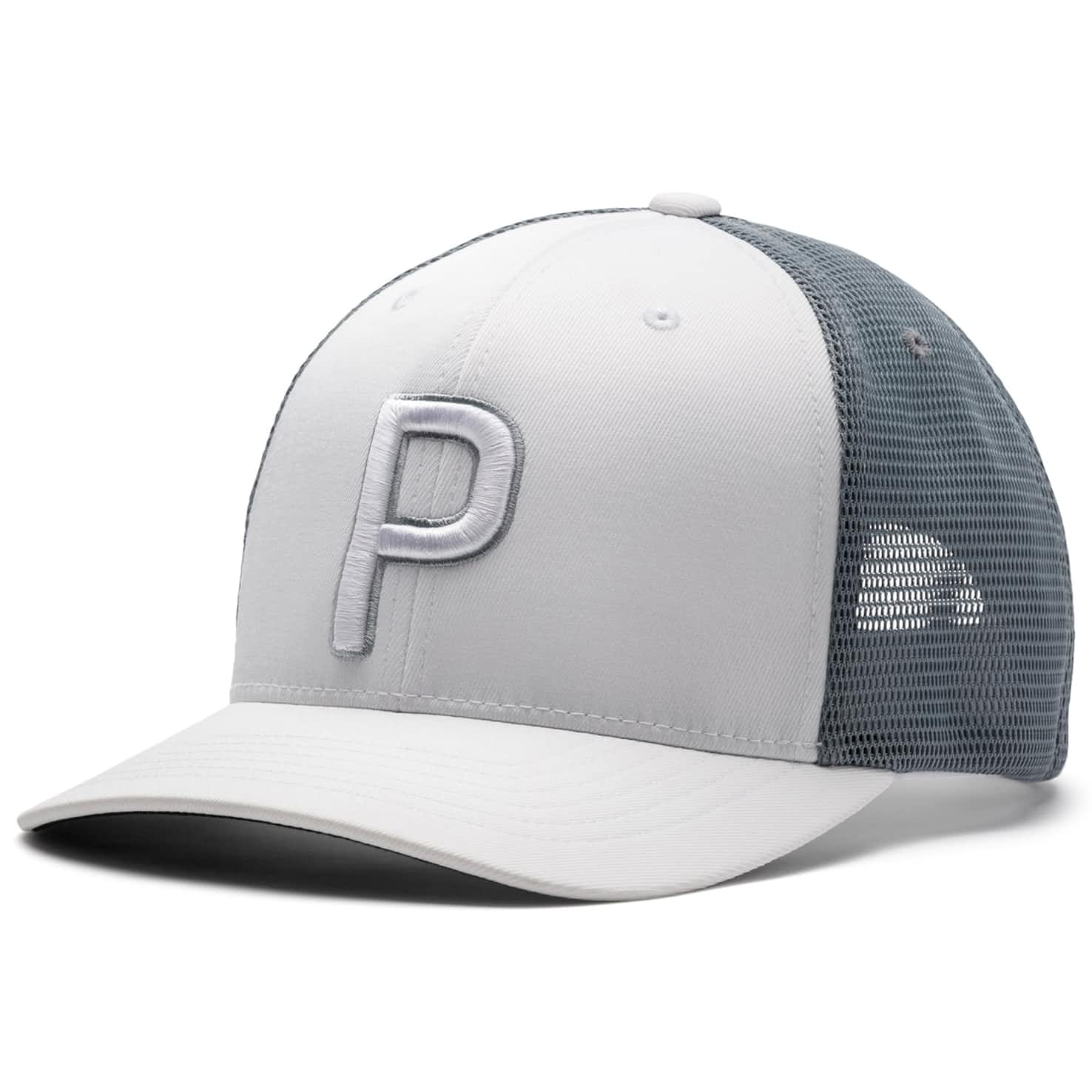 Trucker P 110 Snapback Cap Bright White - SS20