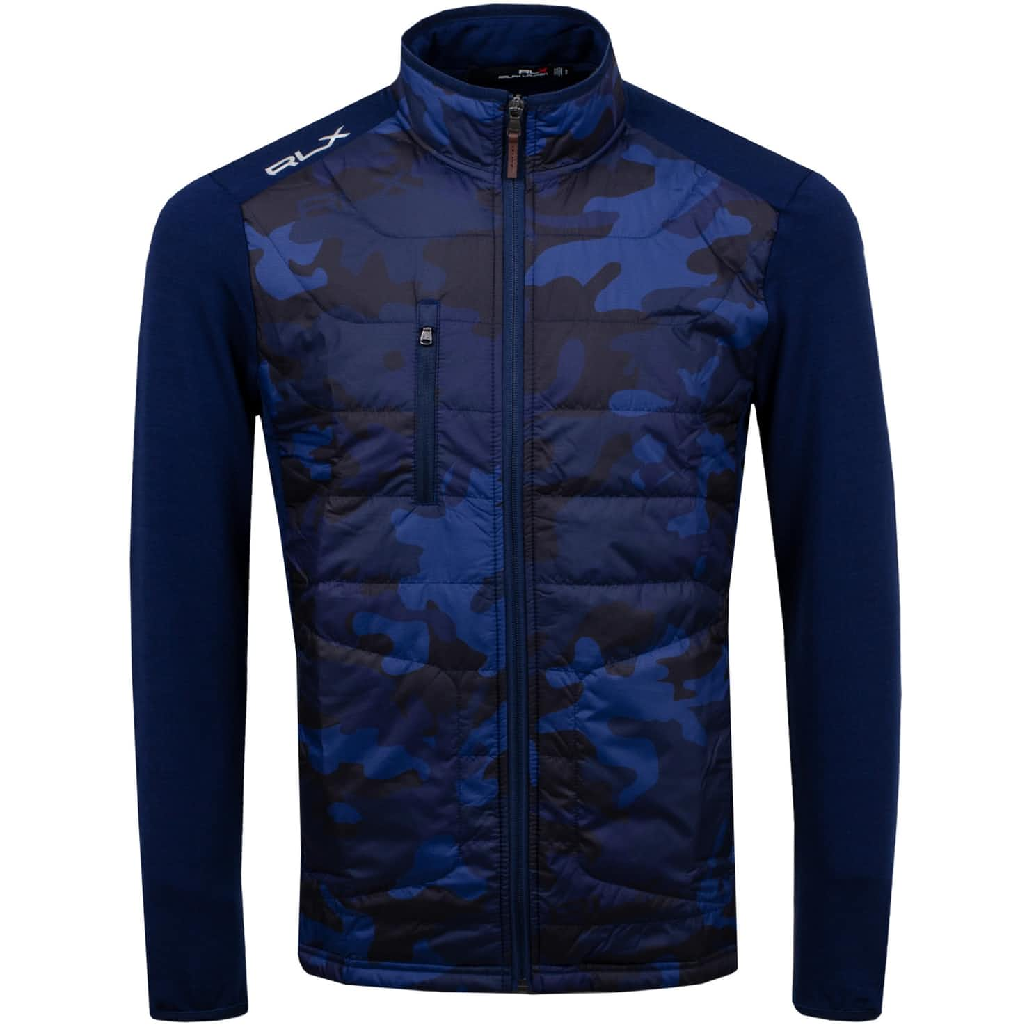 Cool Wool Jacket French Navy Camo - SS20