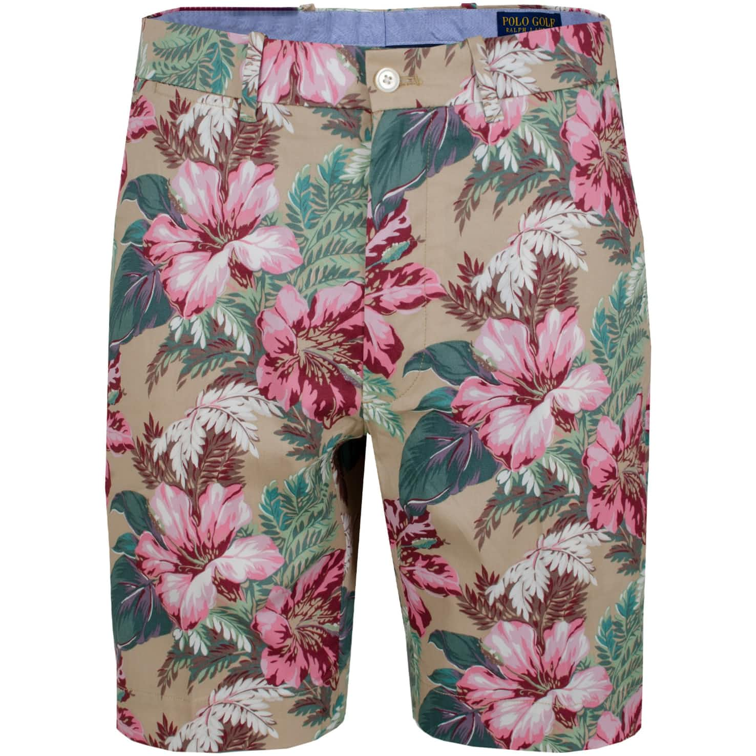 Cotton Stretch Shorts Wild Hibiscus - SS20