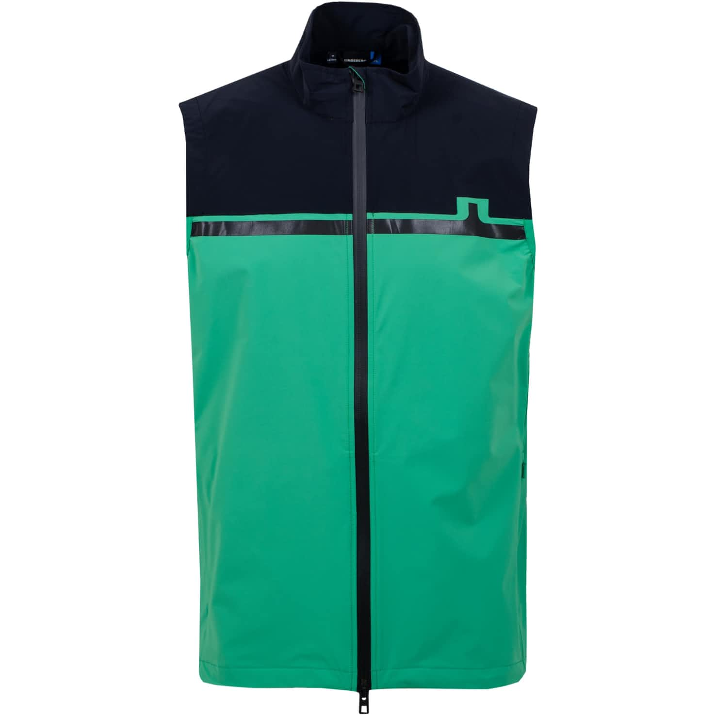 Blocked Lux Softshell Vest Stan Green - SS20