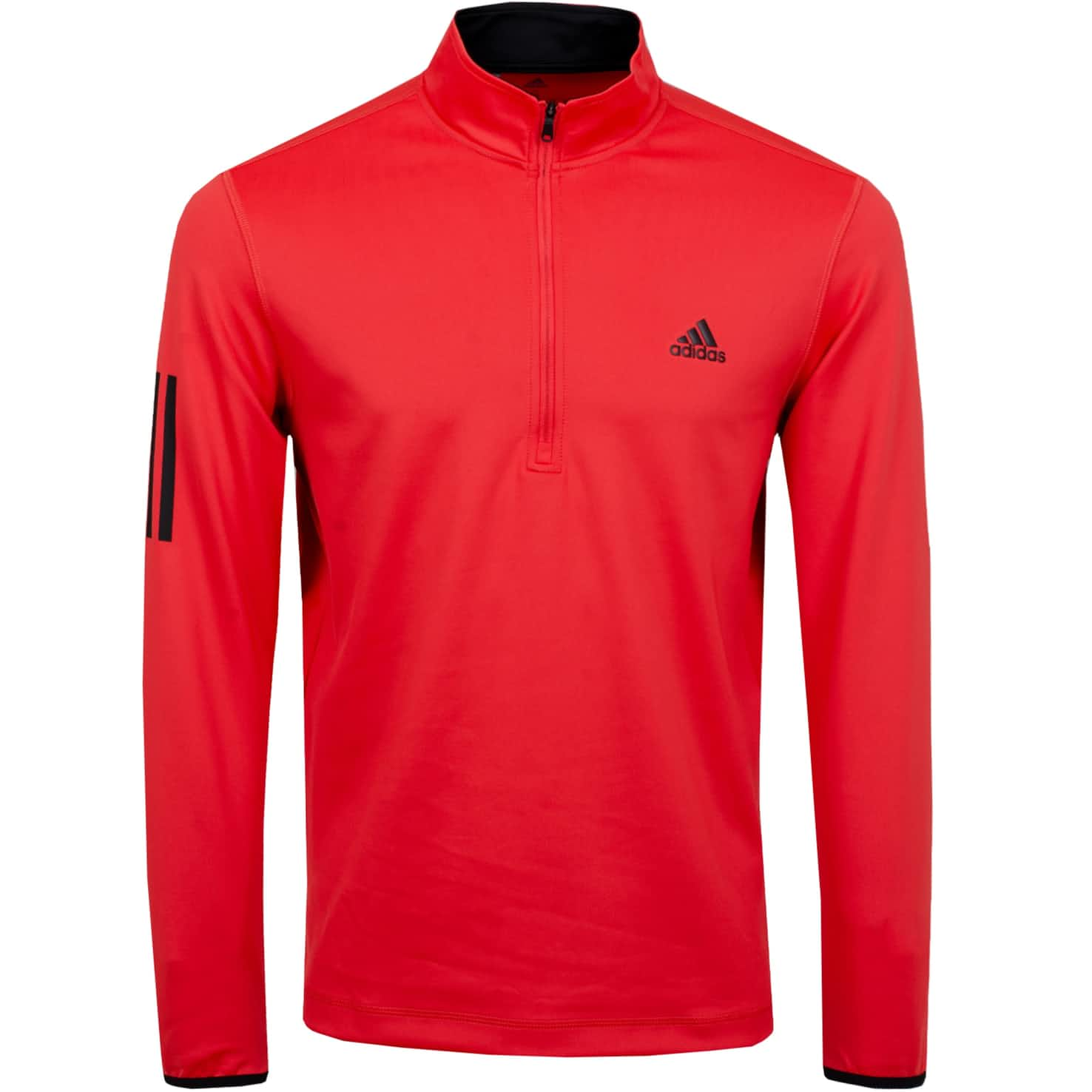 Midweight Quarter Zip Real Coral - SS20