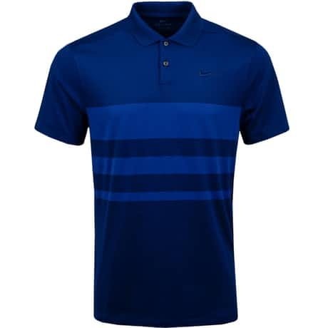 Dry Vapor Stripe Polo Blue Void - SS20