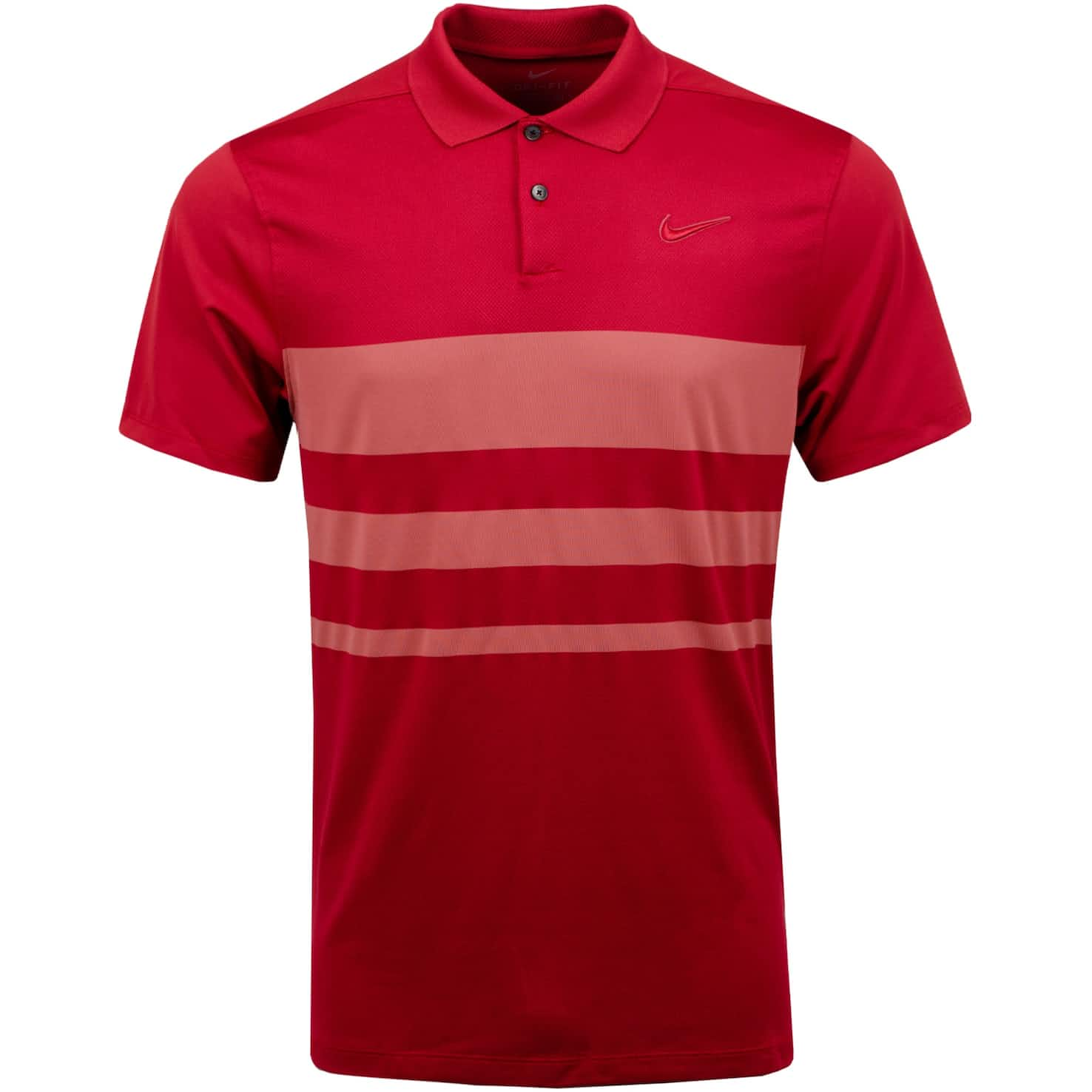 Dry Vapor Stripe Polo Sierra Red - SS20