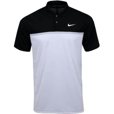 Dry Colourblock Victory Polo Black/White - SS20