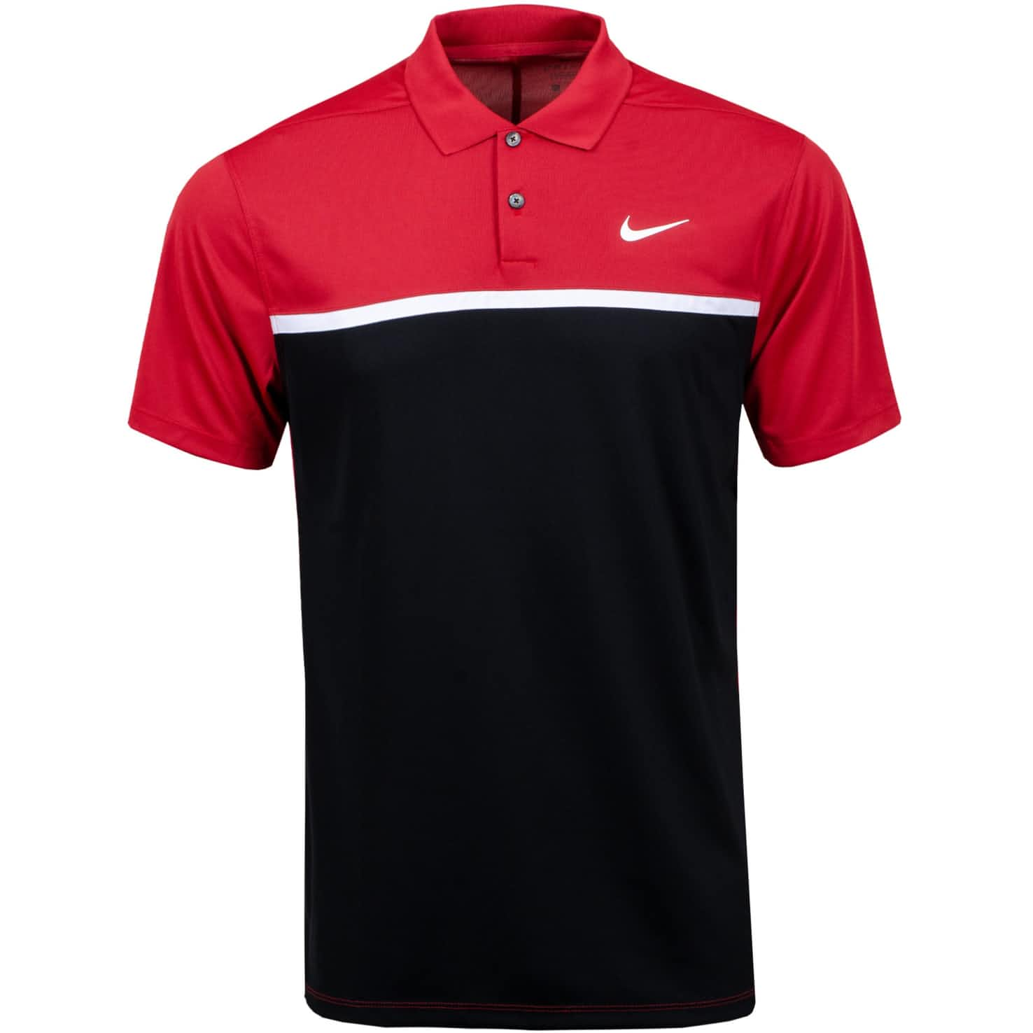 Dry Colourblock Victory Polo Sierra Red/Black - SS20
