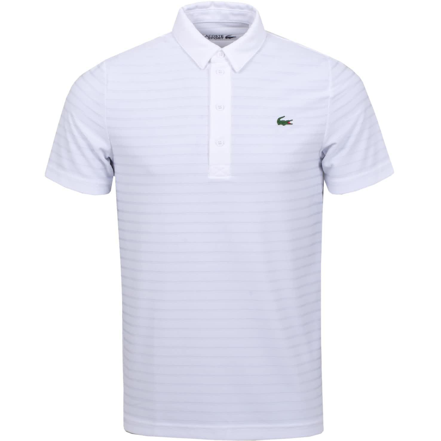 Technical Jacquard Polo White - SS20