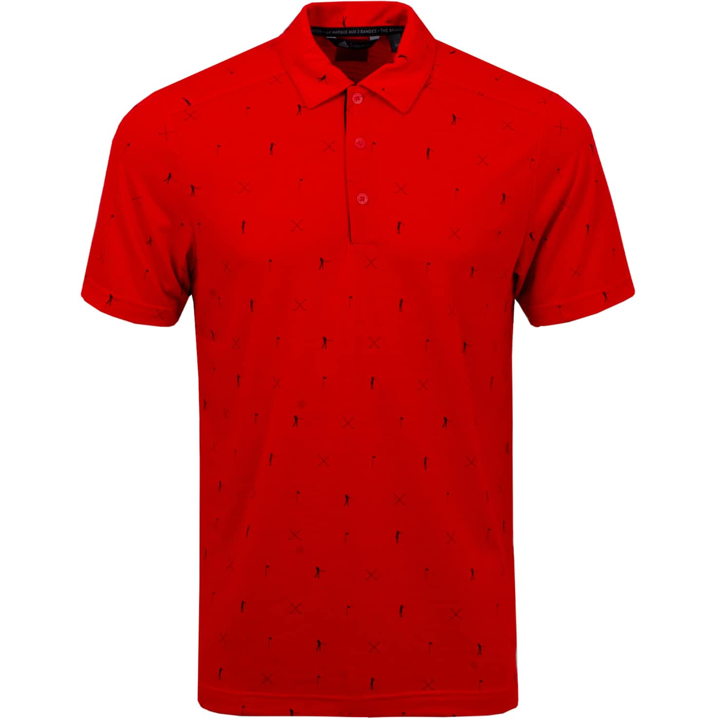 Adicross Drive Polo Red - SS20