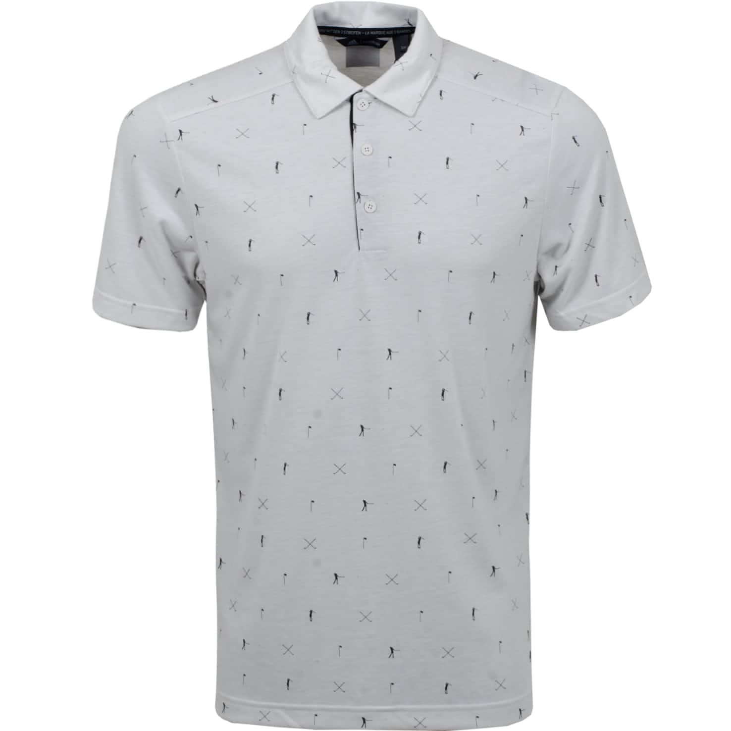 Adicross Drive Polo Orbit Grey - SS20