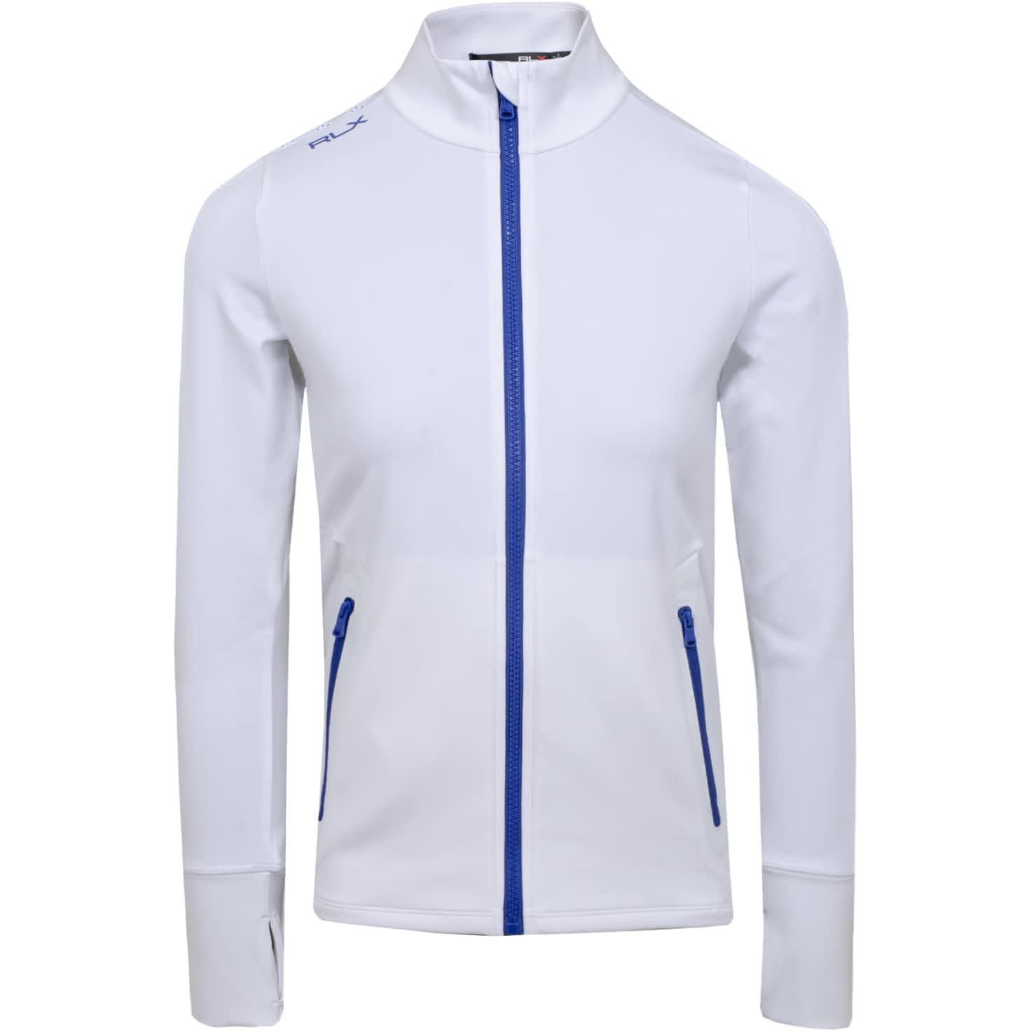 Womens Powerstretch LS Tech Jersey Pure White - SS20
