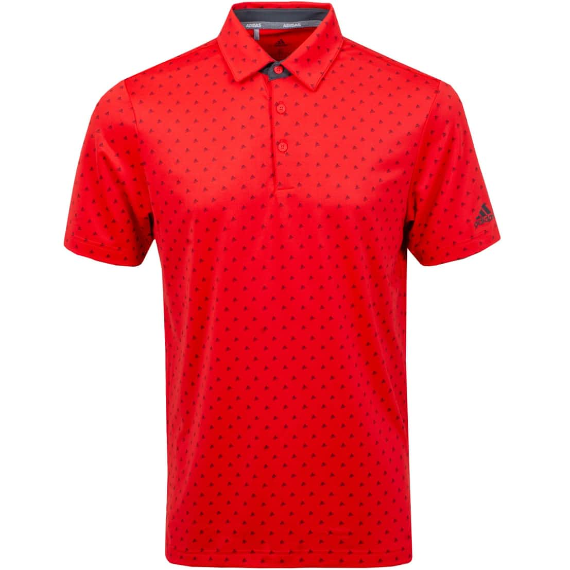 Sport Ultimate 365 Print Polo Real Coral/Grey - SS20