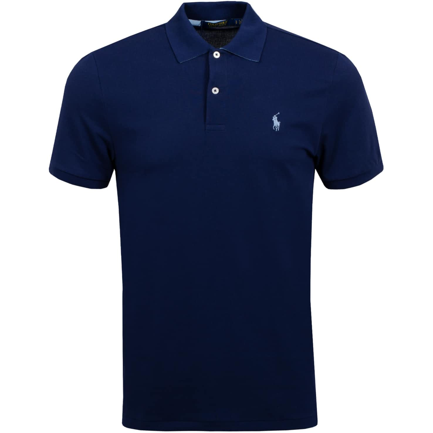 Lightweight Performance Pique French Navy - SS20
