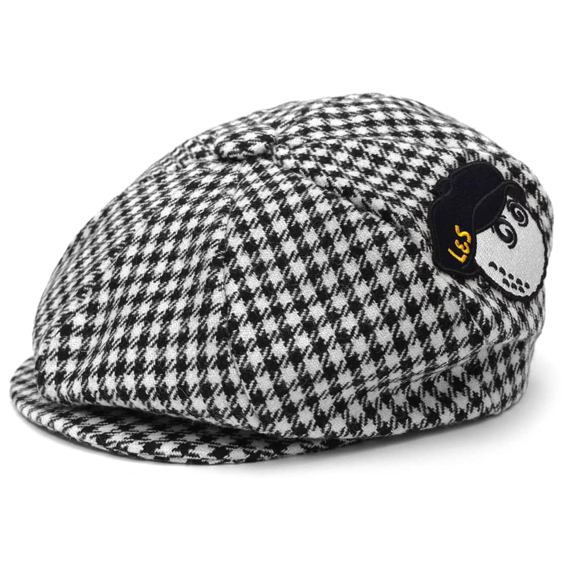 x Lyle & Scott Big Boy Cap Houndstooth - SS20