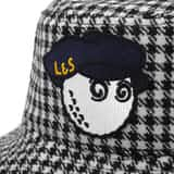 x Lyle & Scott Bucket Hat Houndstooth - SS20