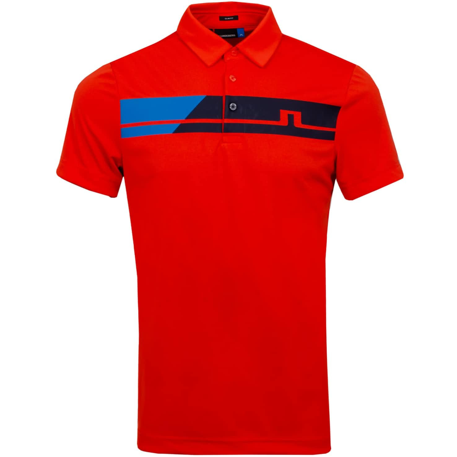 Clark Slim Fit TX Jersey Tomato Red - SS20