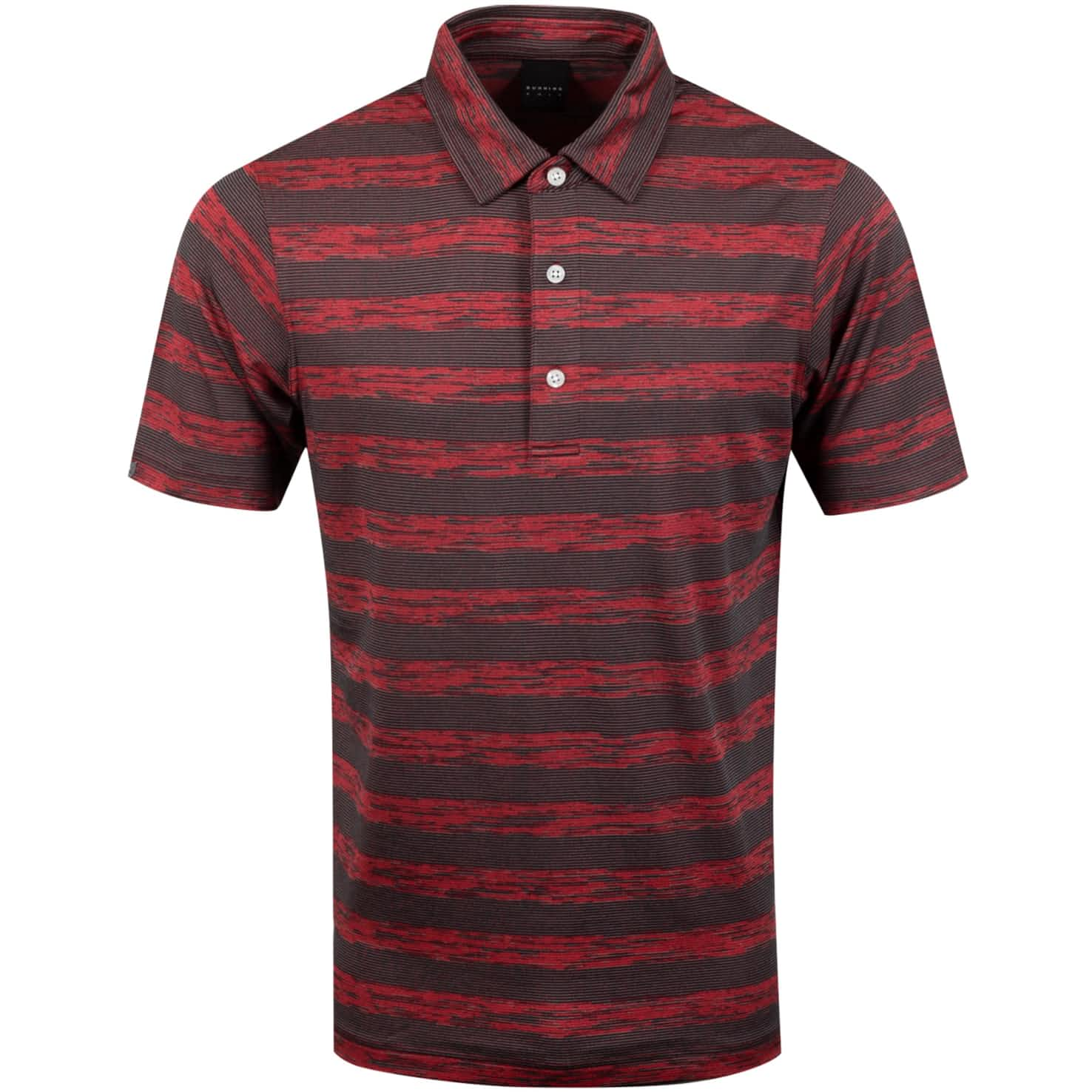 Pennan Golf Polo Black/Charcoal/Root Heather - SS20