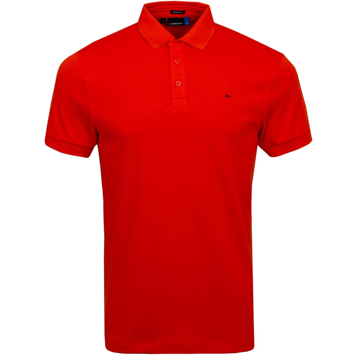 Stan Regular Fit Club Pique Tomato Red - SS20