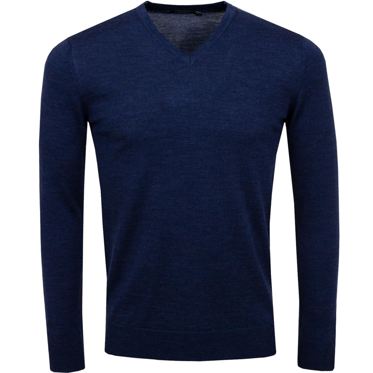 Newman V-Neck Perfect Merino JL Navy - SS20