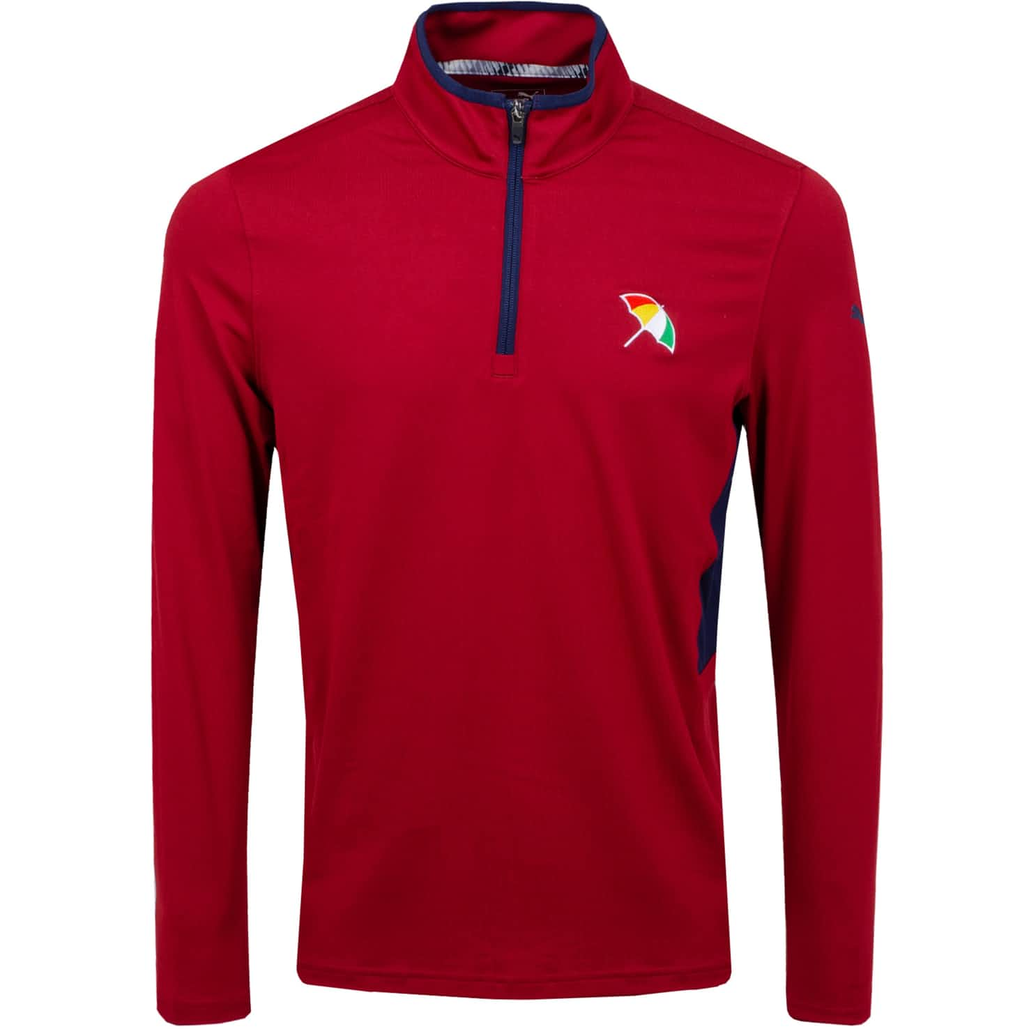 LE Arnold Palmer Rotation Quarter Zip Red - SS20