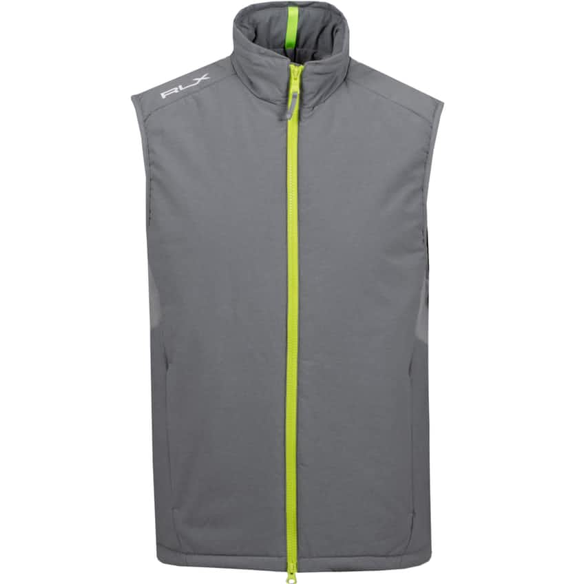 Gravity Poly Fill Vest Boulder Grey Heather - SS20